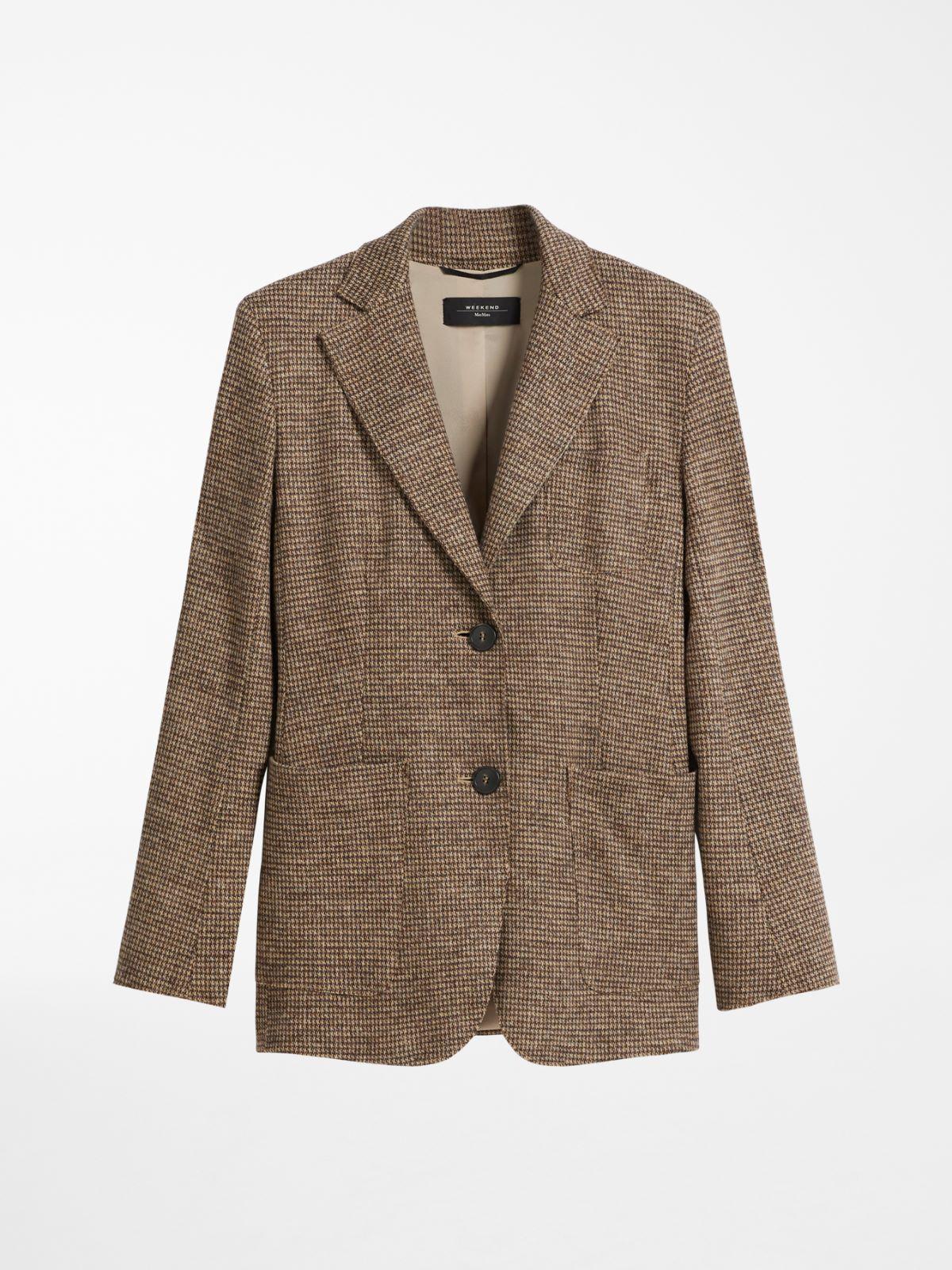 Wool-blend jersey blazer Weekend Maxmara