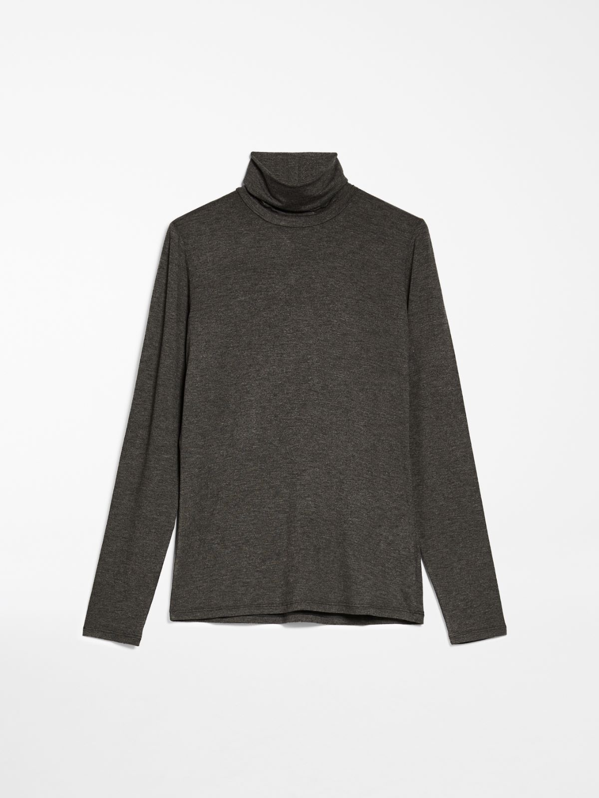 Viscose jersey polo-neck sweater Weekend Maxmara