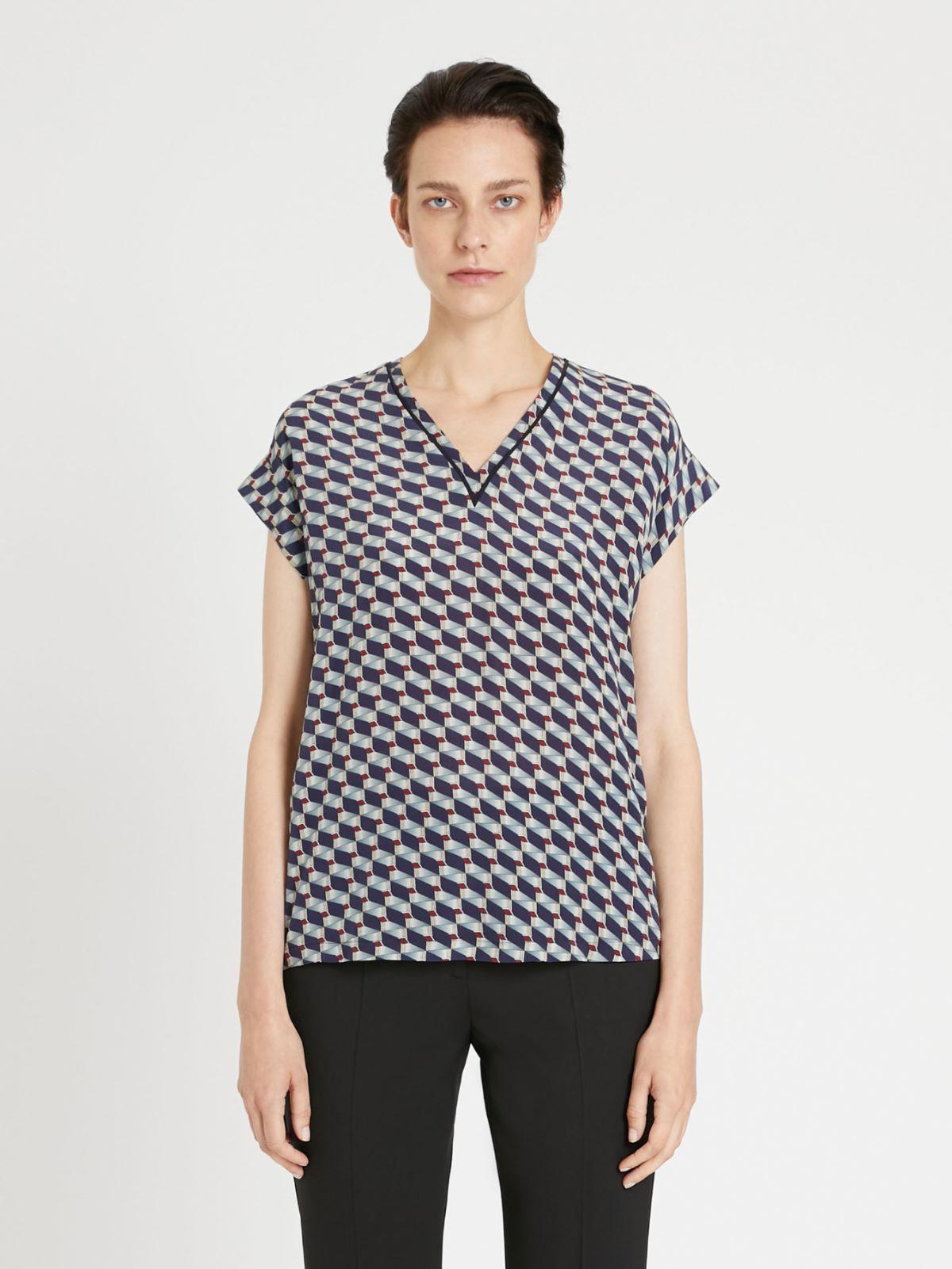 Silk crepe de chine T-shirt Weekend Maxmara
